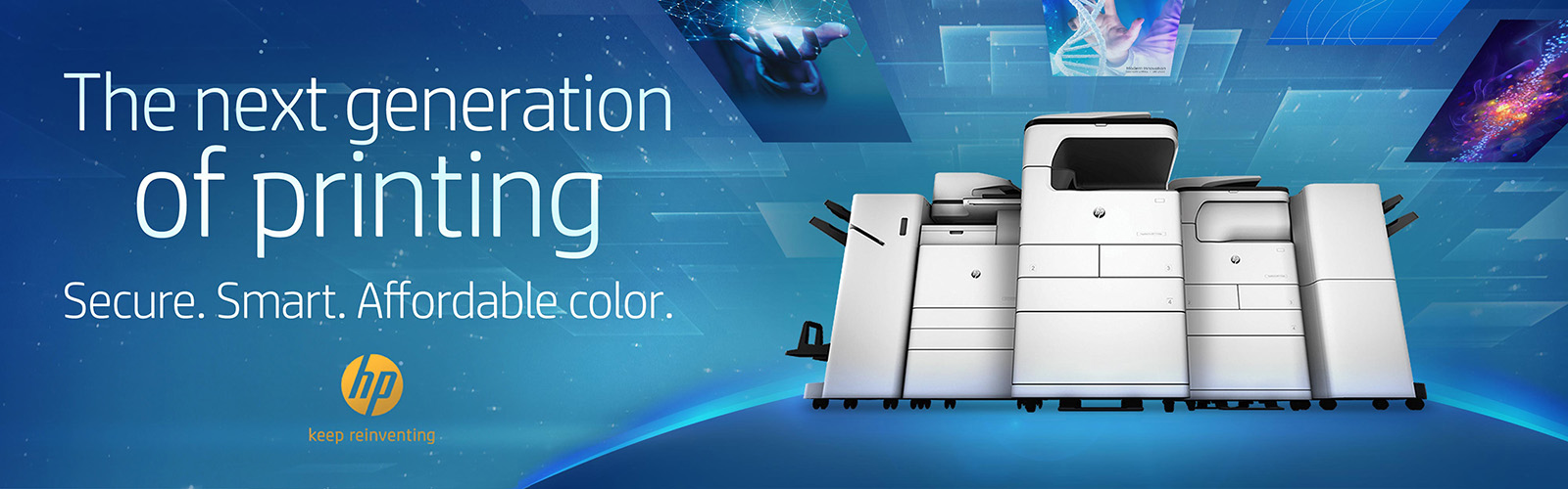 HP A3 Products Banner